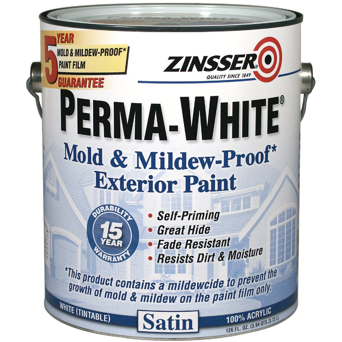 EXT SAT WHT MILDEW PAINT - 3101 by Rustoleum