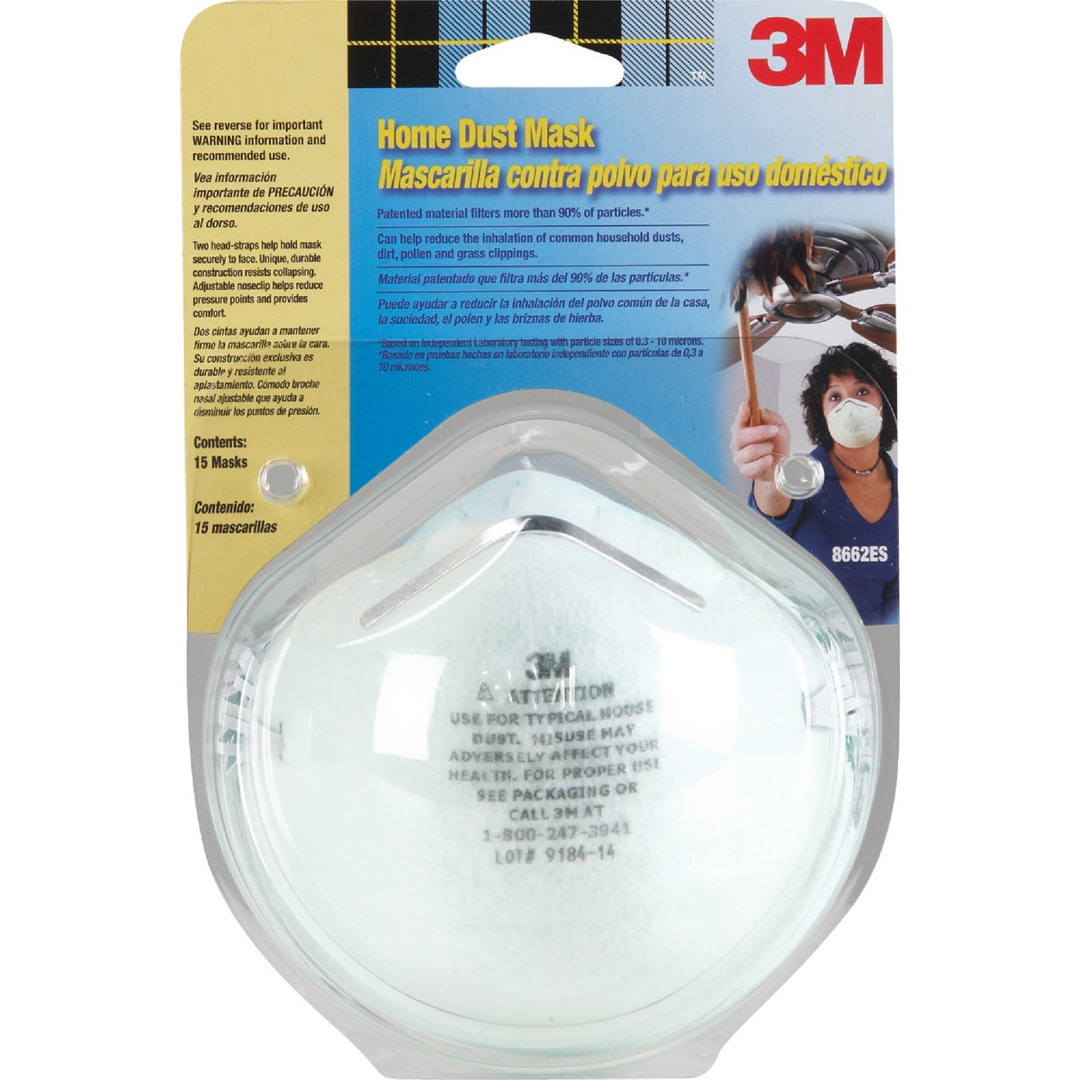 15PK HOME DUST MASK