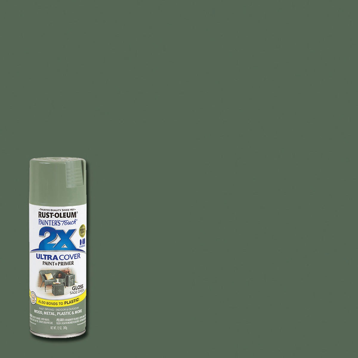 Rust Oleum GLS SAGE SPRAY PAINT 249094