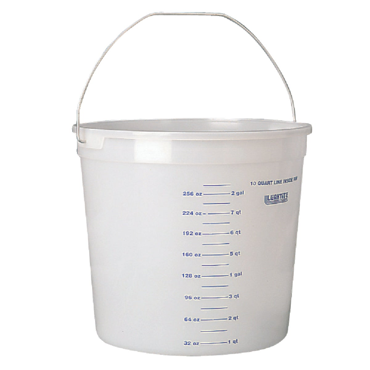 10QT CLEAR PLASTIC PAIL - 11CLR by Leaktite Corporation