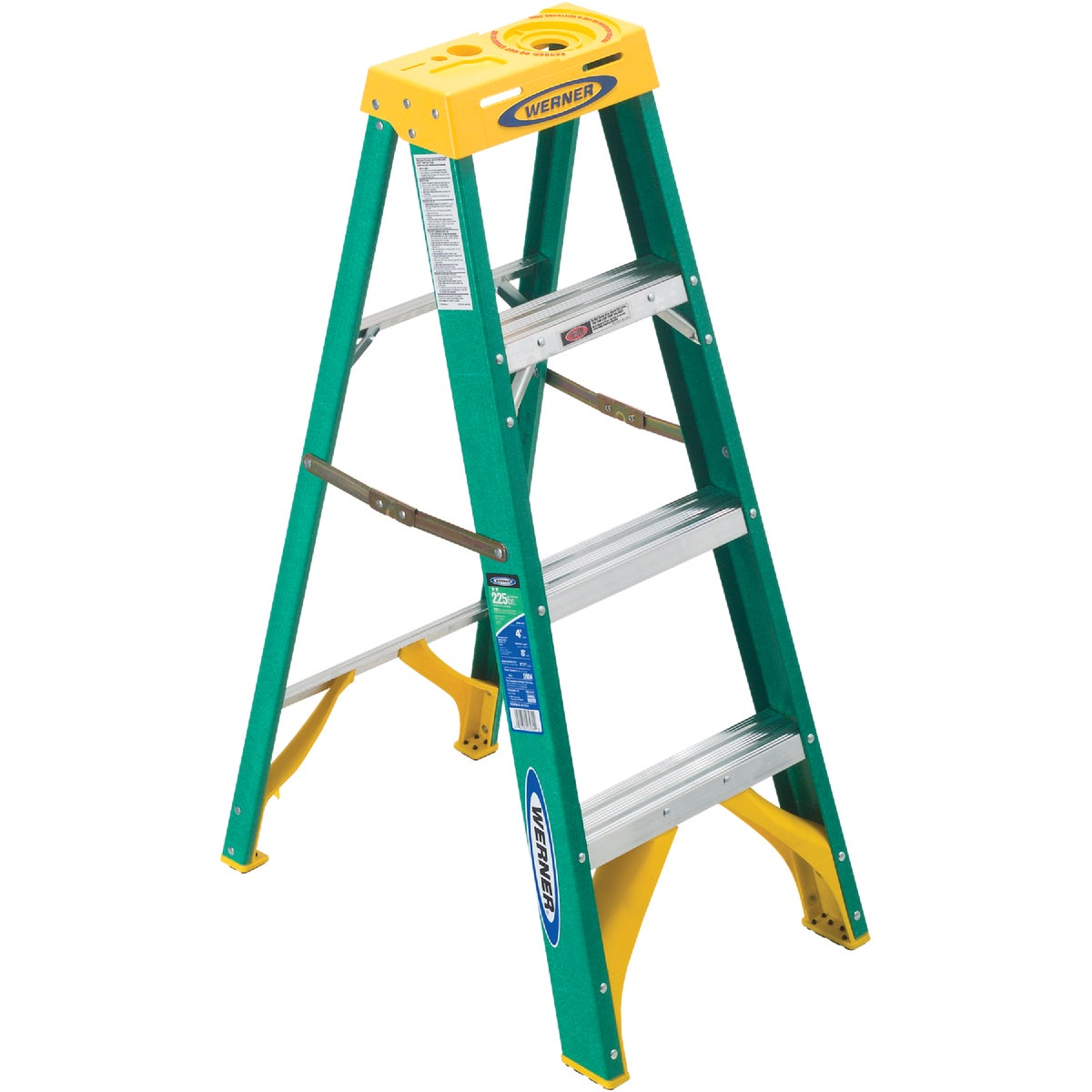 T-2 4' FBGL STEPLADDER - 5904 by Werner Co
