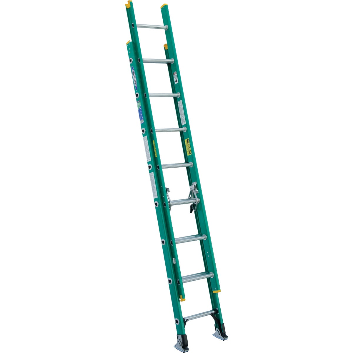 T-2 16' FBGL EXT LADDER - D5916-2 by Werner Ladder