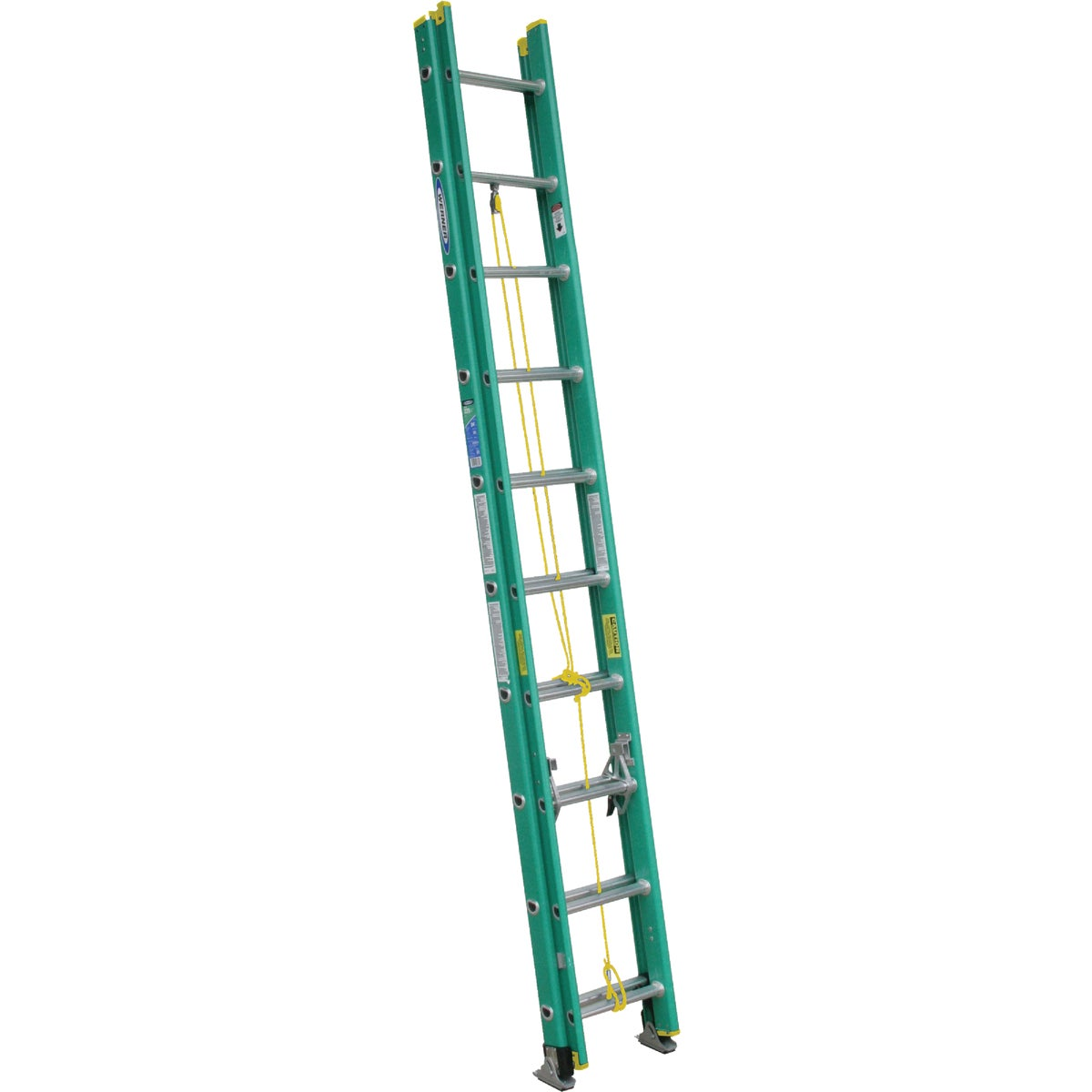T-2 20' FBGL EXT LADDER - D5920-2 by Werner Ladder