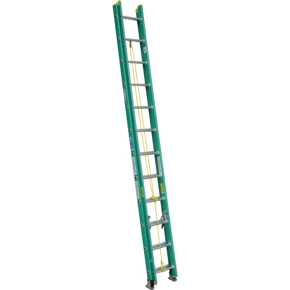 T-2 24' FBGL EXT LADDER - D5924-2 by Werner Ladder