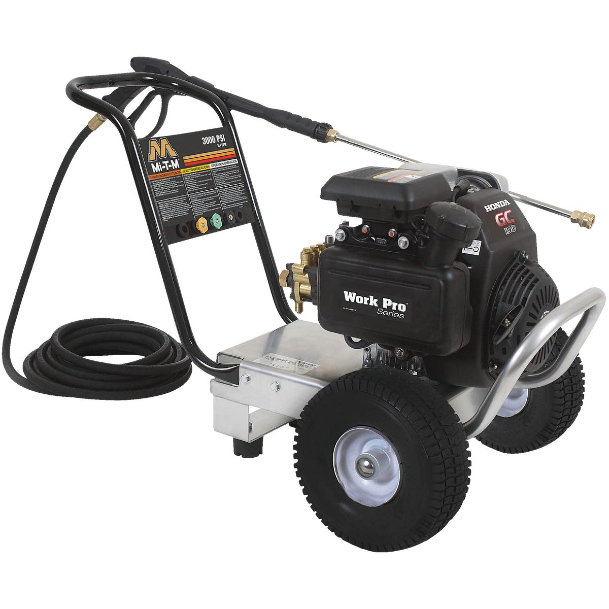 2500 PSI PRESSURE WASHER - WP-2500-4MHB by Mi T M Corp