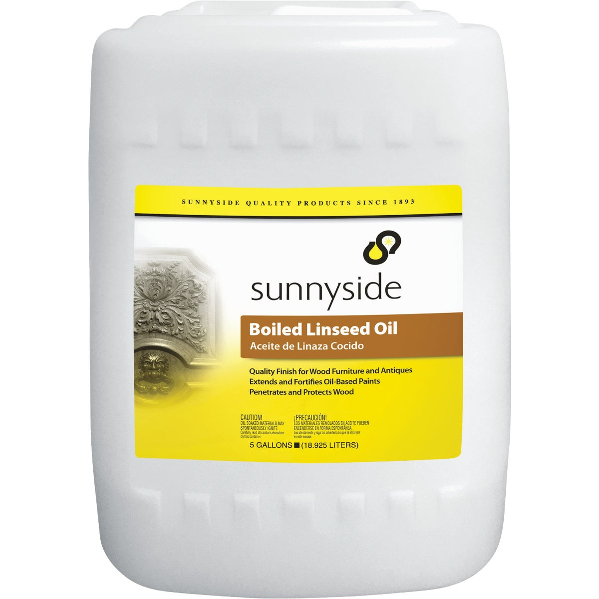 5GAL BOILED LINSEED OIL - 872G5 by Sunnyside Corp