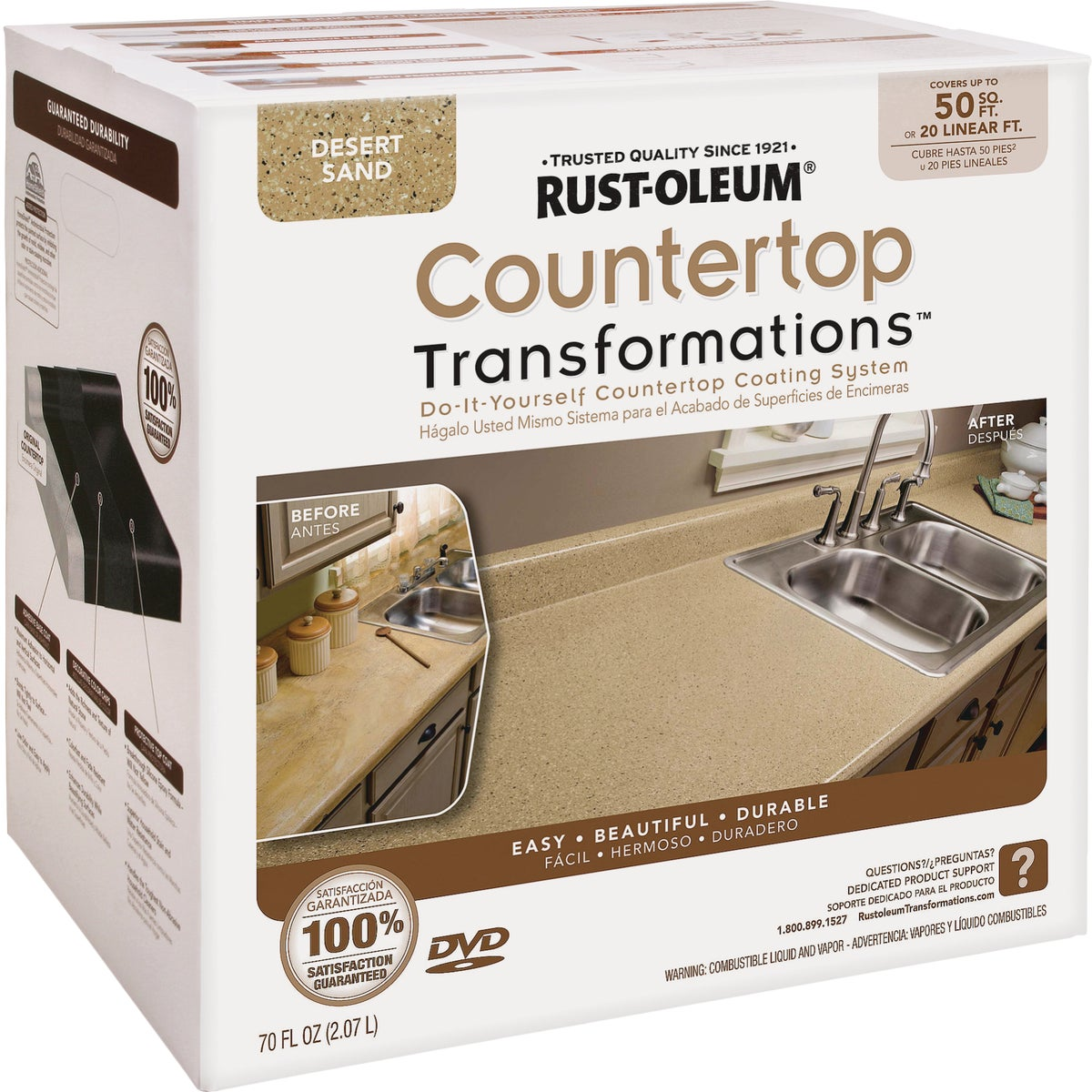 DESRTSAND COUNTERTOP KIT - 258286 by Rustoleum