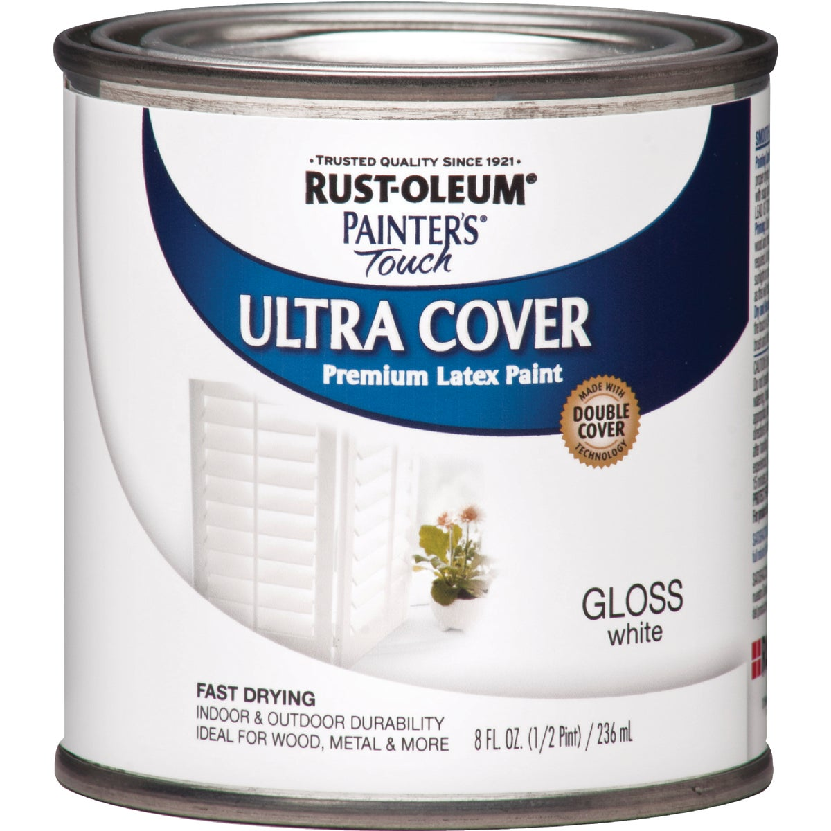 WHITE LATEX PAINT - 1992-730 by Rustoleum