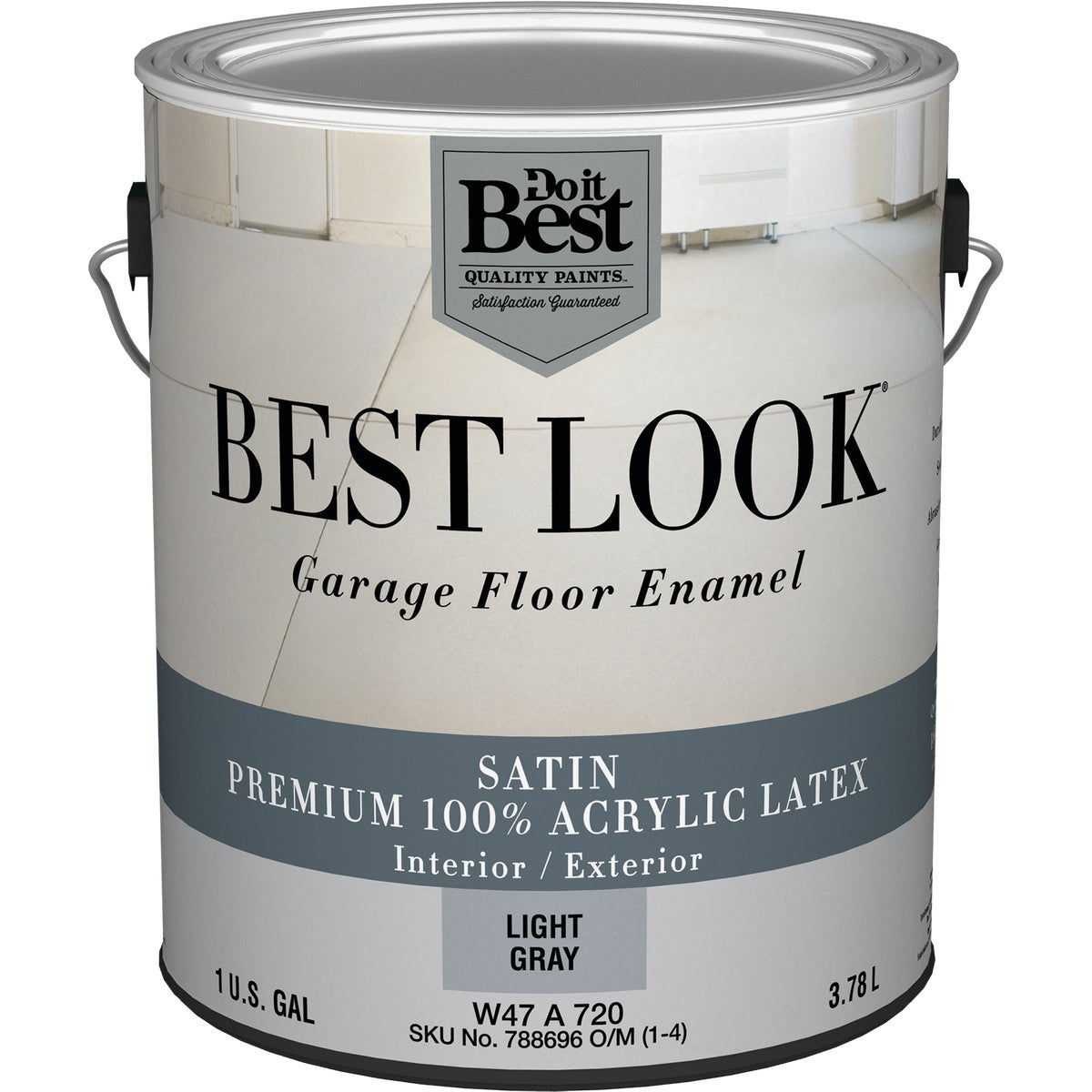 LT GRAY GARAGE FLR PAINT - W47A00720-16 by Do it Best