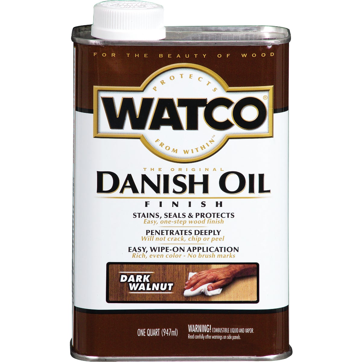 DARK WALNUT DANISH OIL - A65841 by Rustoleum