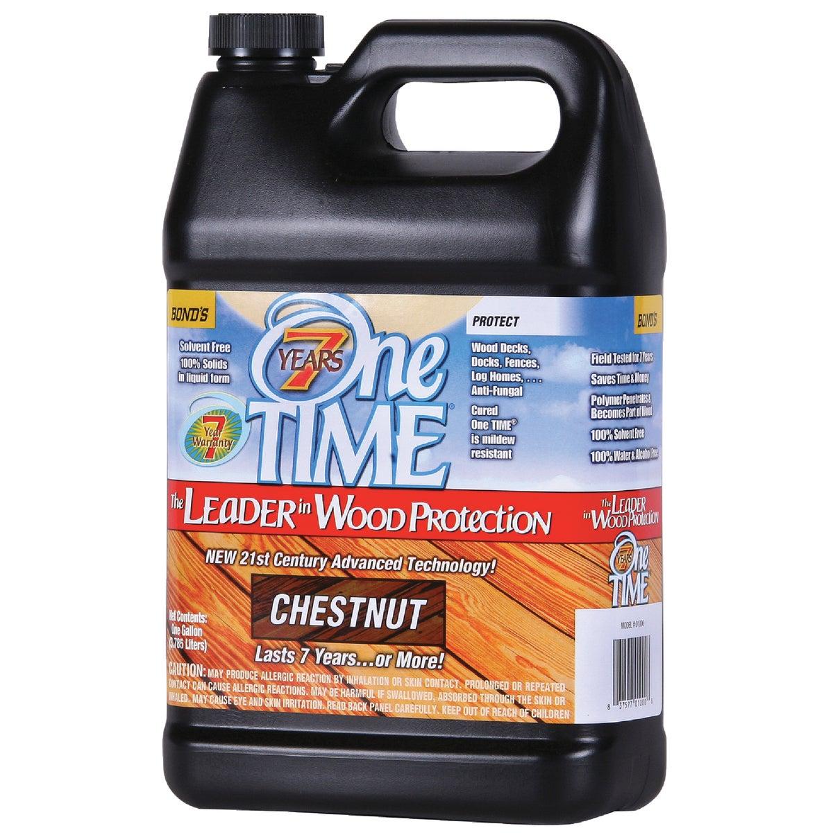 CHESTNUT WOOD SEALER - 01000 by Bond Distributing