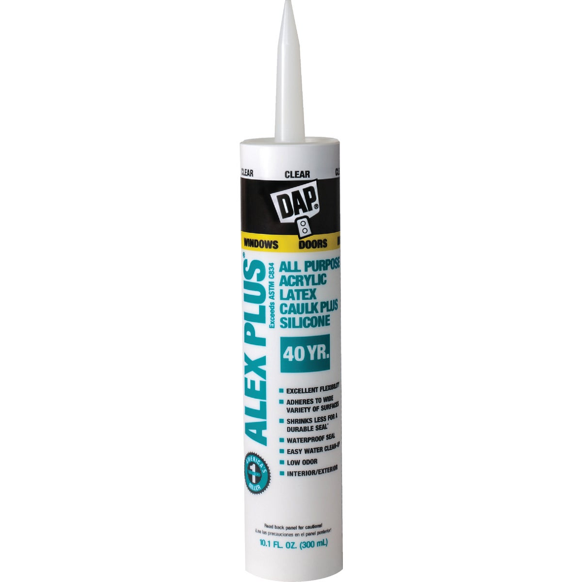 CLEAR ALEX PLUS CAULK - 18156 by Dap Inc