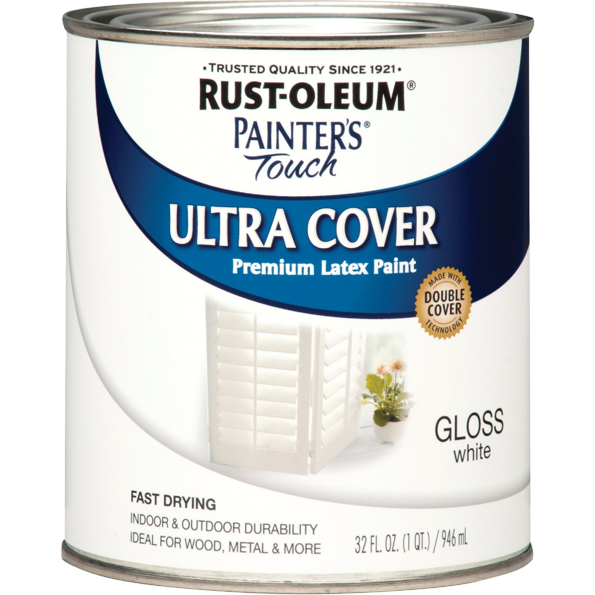 WHITE LATEX PAINT - 1992-502 by Rustoleum