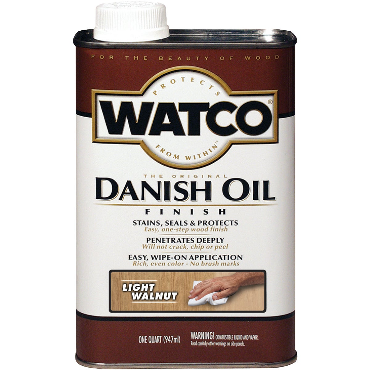LIGHT WALNUT DANISH OIL - 65541 by Rustoleum