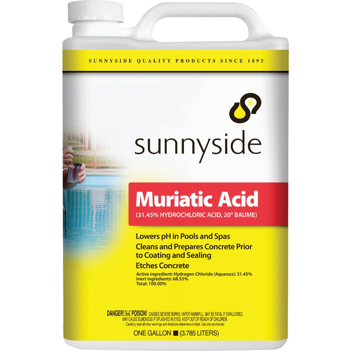 GAL MURIATIC ACID - 710G1 by Sunnyside Corp