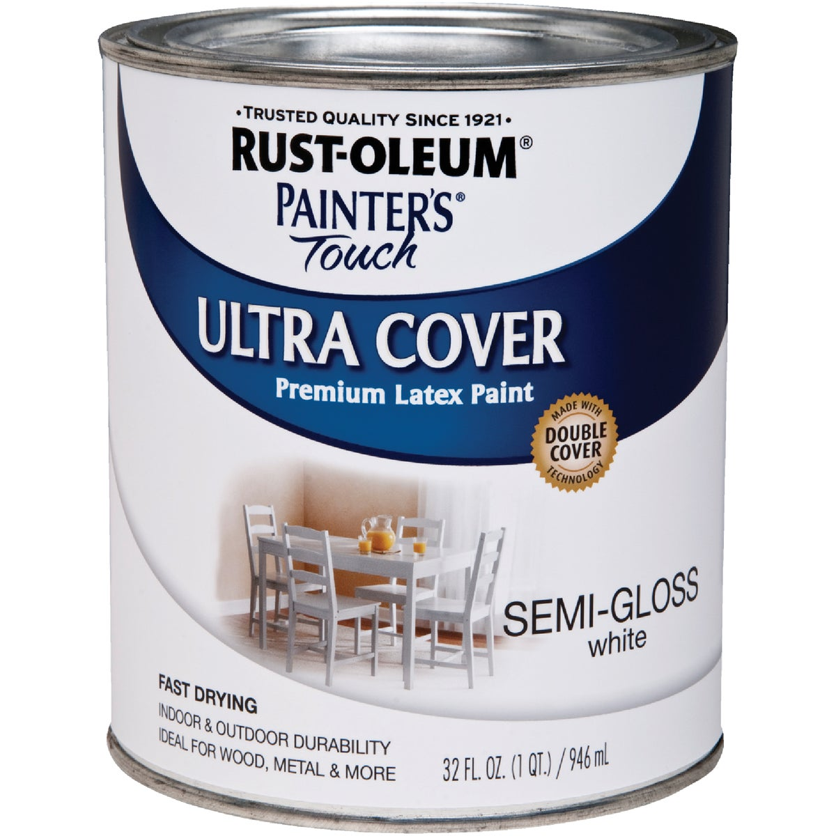 S/G WHITE LATEX PAINT - 1993-502 by Rustoleum