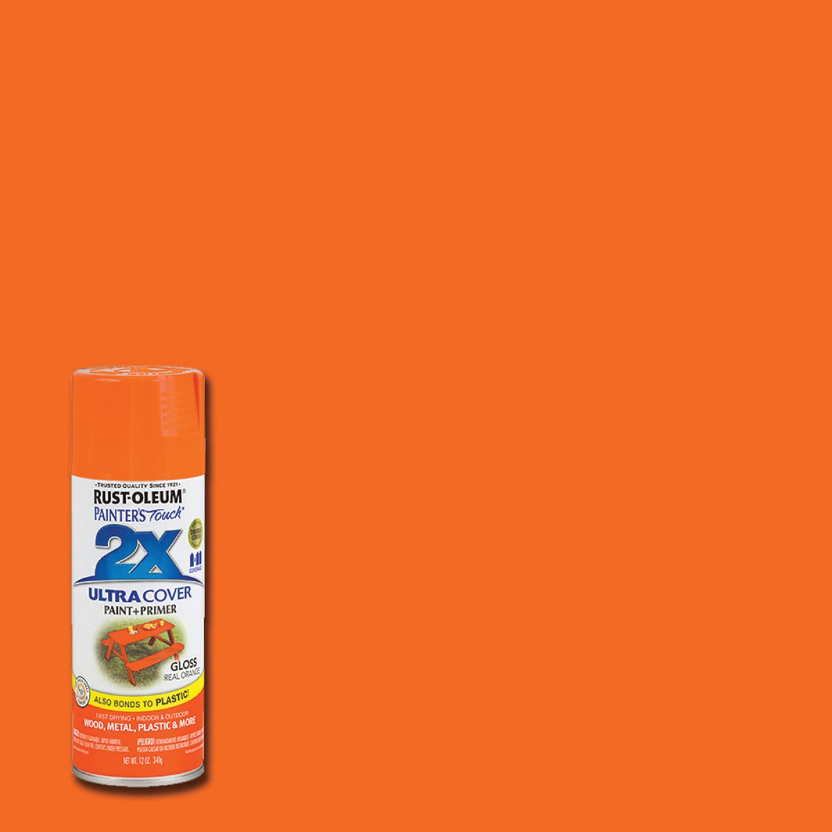 REAL ORANGE SPRAY PAINT - 249095 by Rustoleum