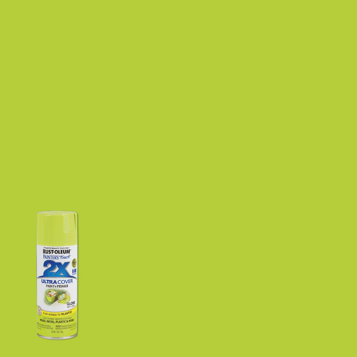 Rust Oleum KEY LIME SPRAY PAINT 249104