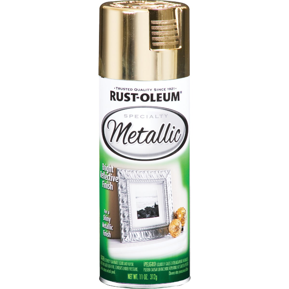 Rust Oleum GOLD METALIC SPRAY PAINT 1910-830