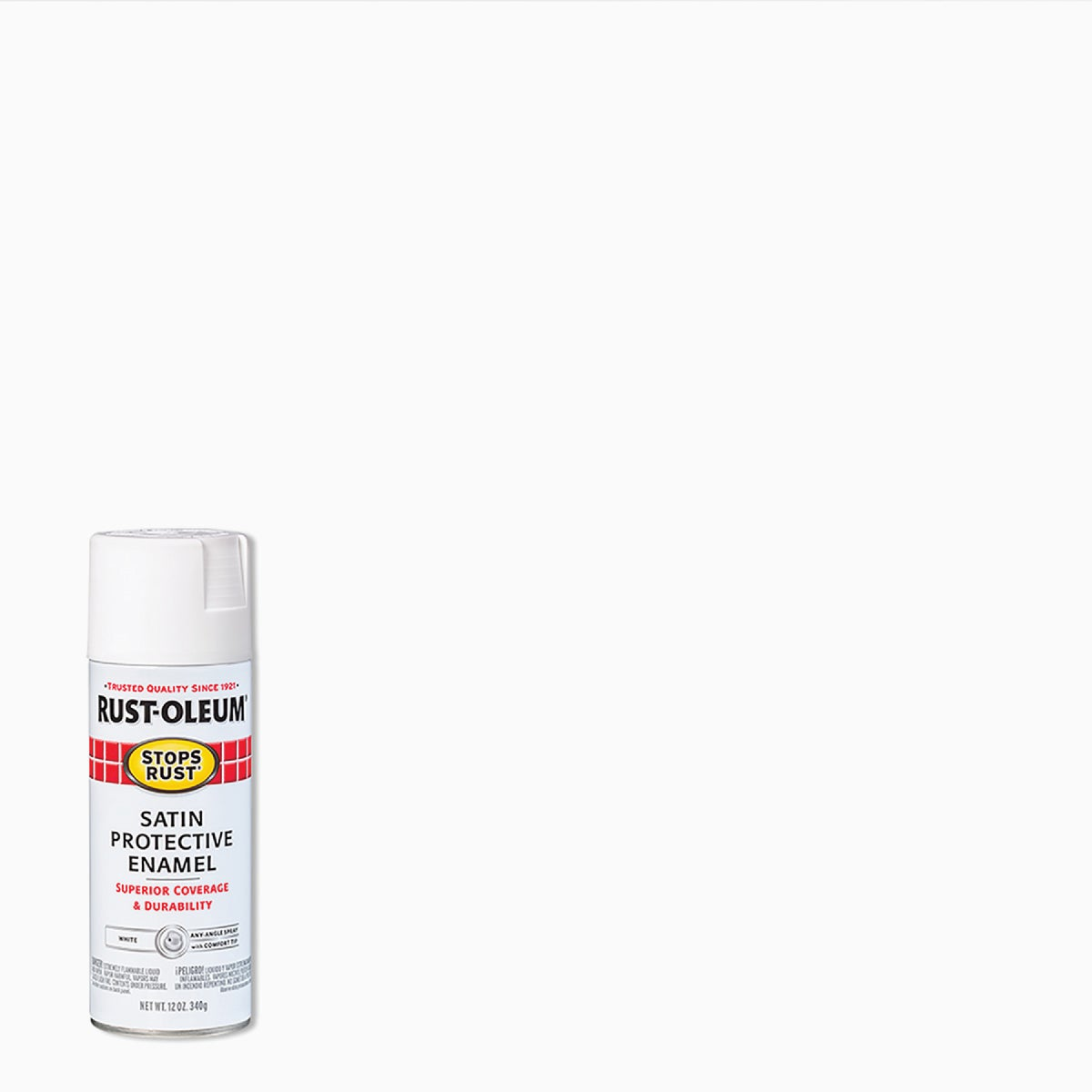 Rust Oleum SATIN WHITE SPRAY PAINT 7791-830
