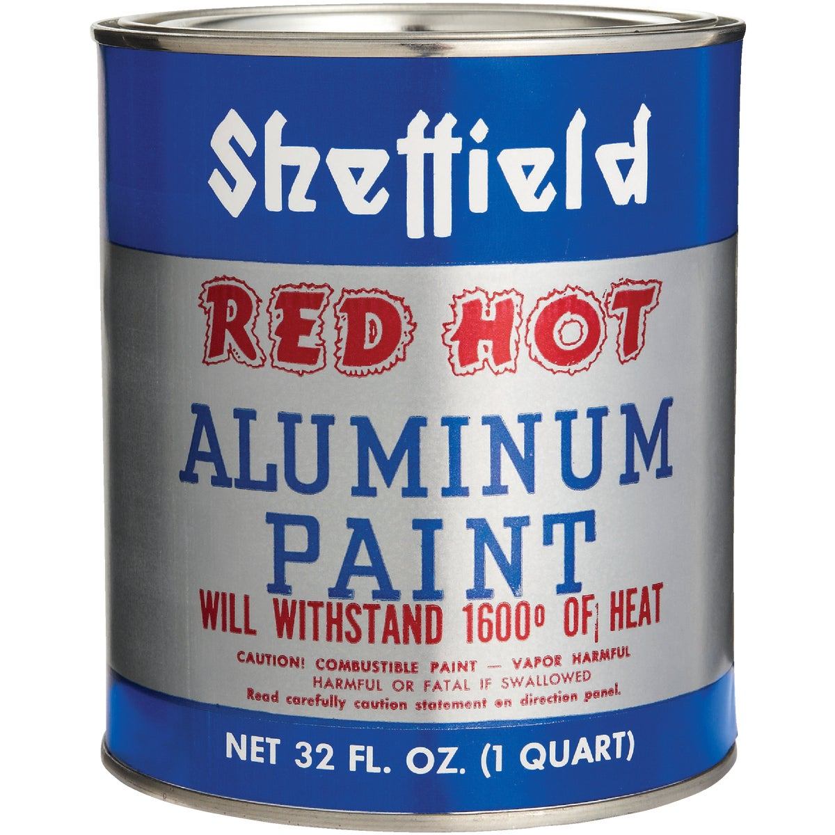 RED HOT ALUMINUM PAINT