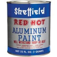 Sheffield RED HOT ALUMINUM PAINT 5319