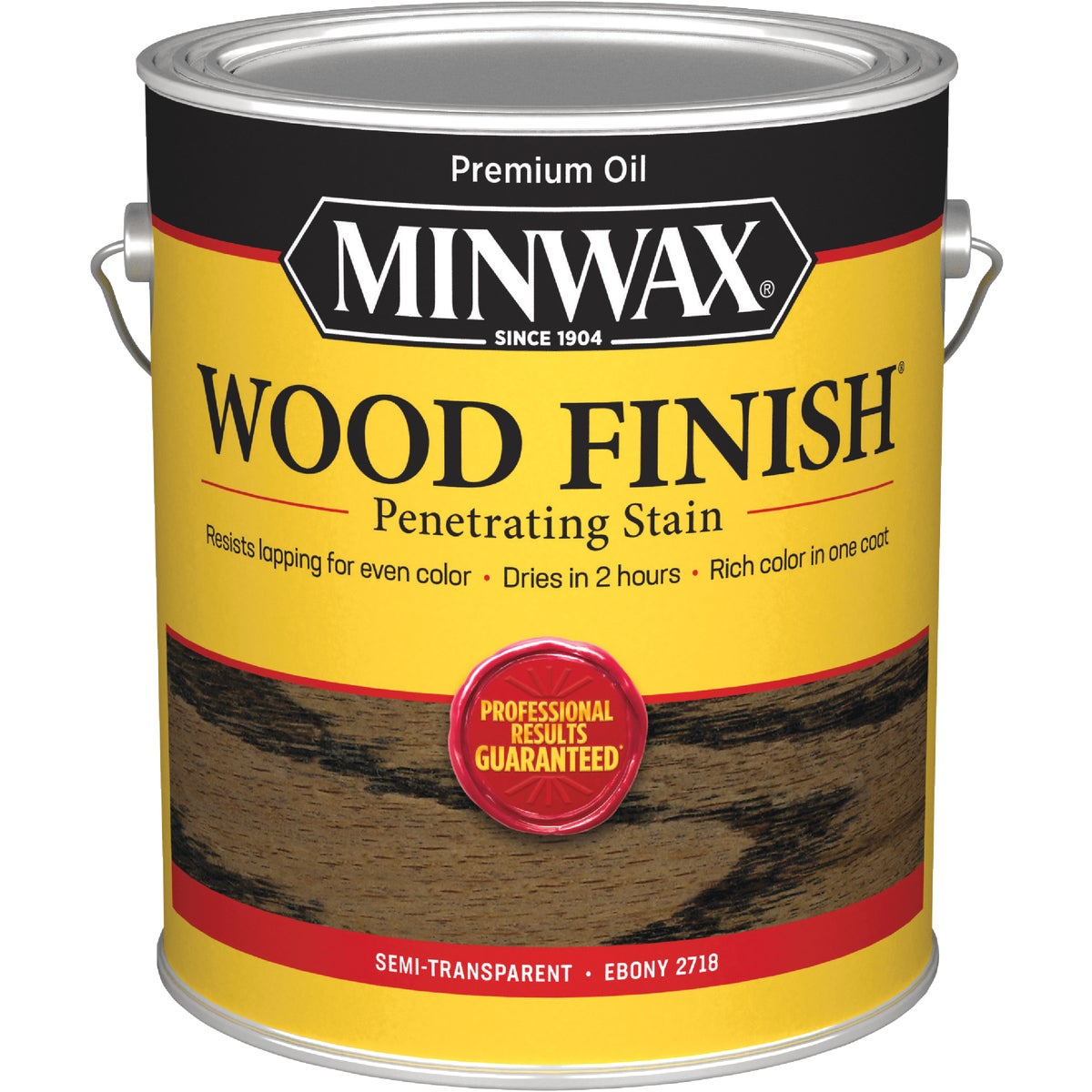 EBONY WOOD FINISH STAIN - 710130000 by Minwax Company