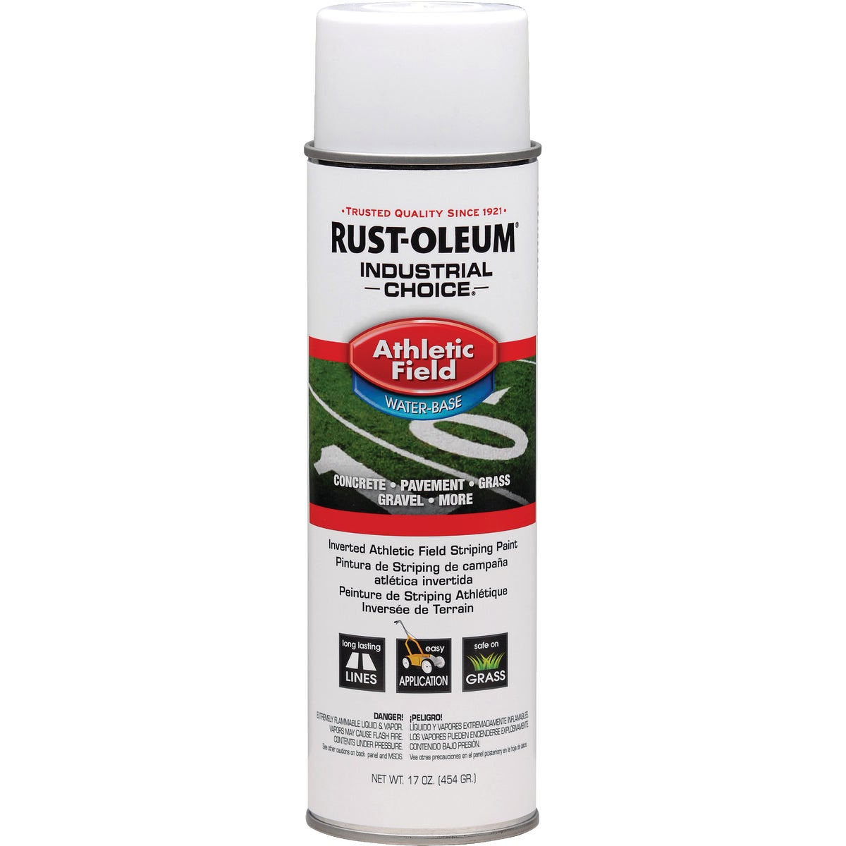 Rust Oleum WHT FIELD STRIPING PAINT 206043