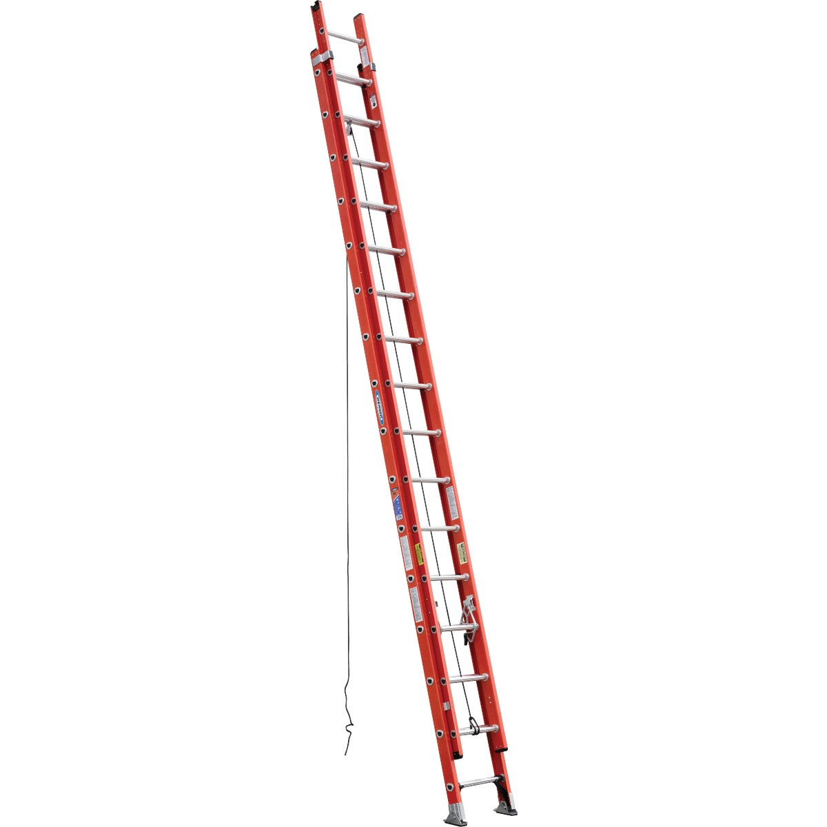 T-1A 32' FBGL EXT LADDER - D6232-2 by Werner Ladder