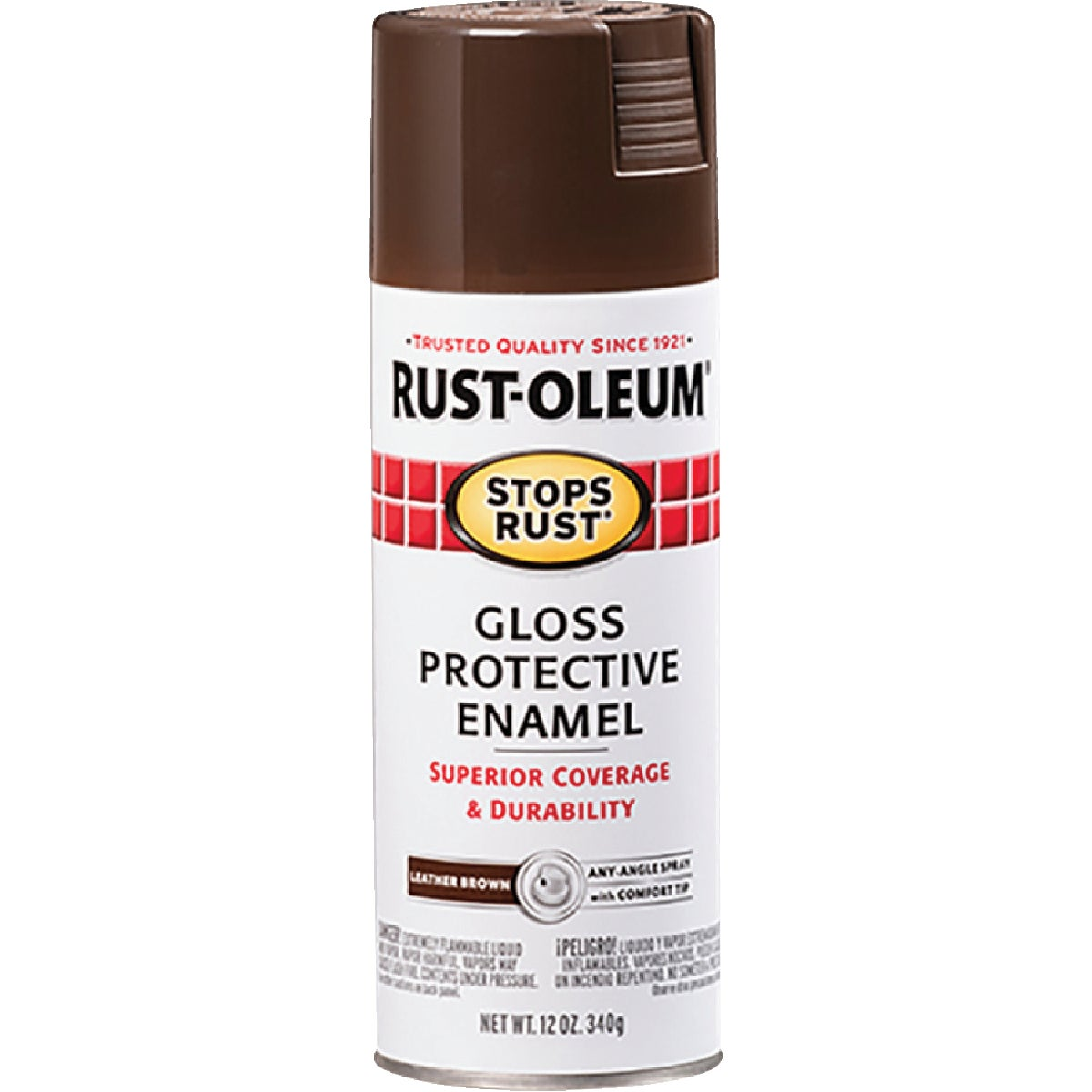 LEATHR BROWN SPRAY PAINT - 7775-830 by Rustoleum