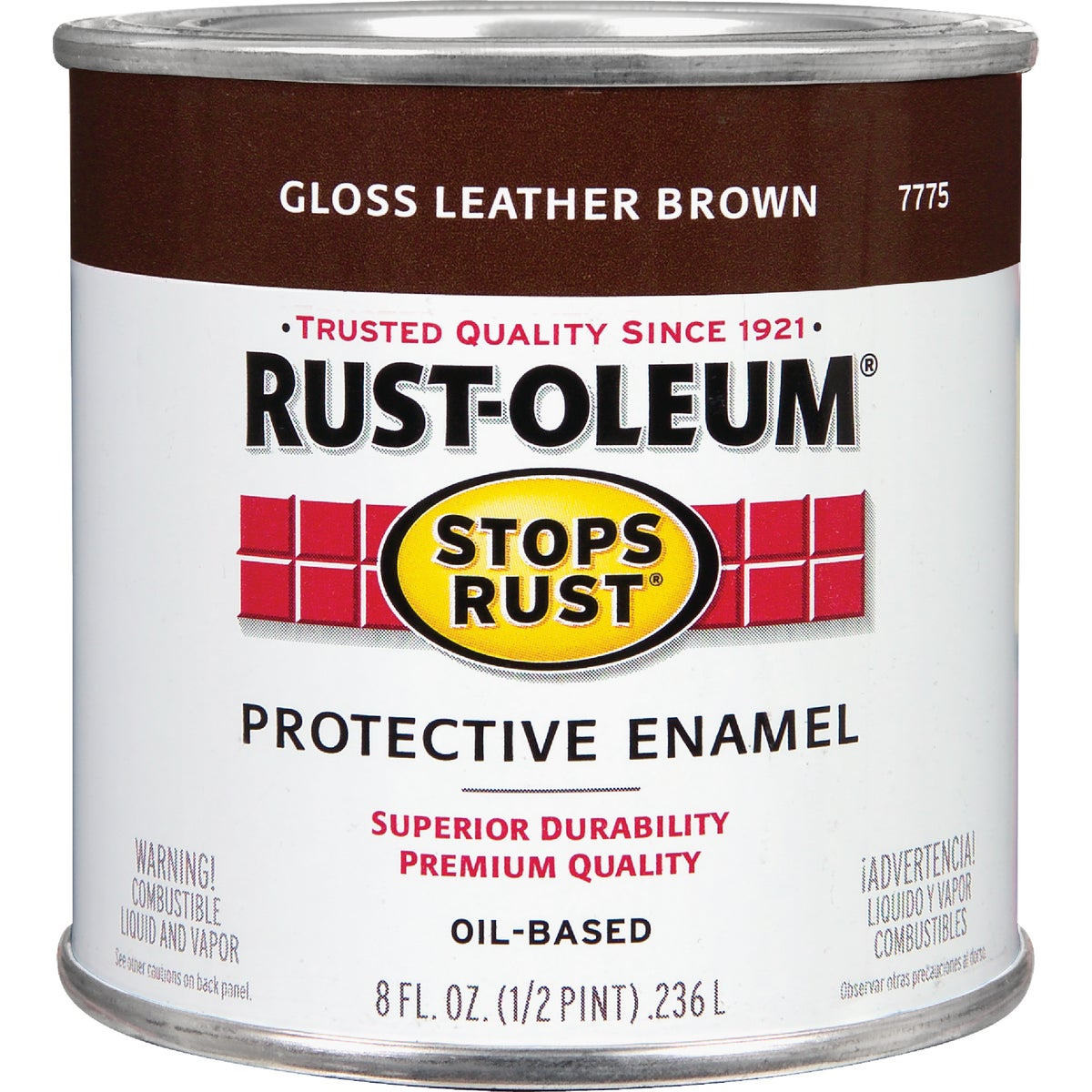 LEATHER BROWN ENAMEL - 7775-730 by Rustoleum