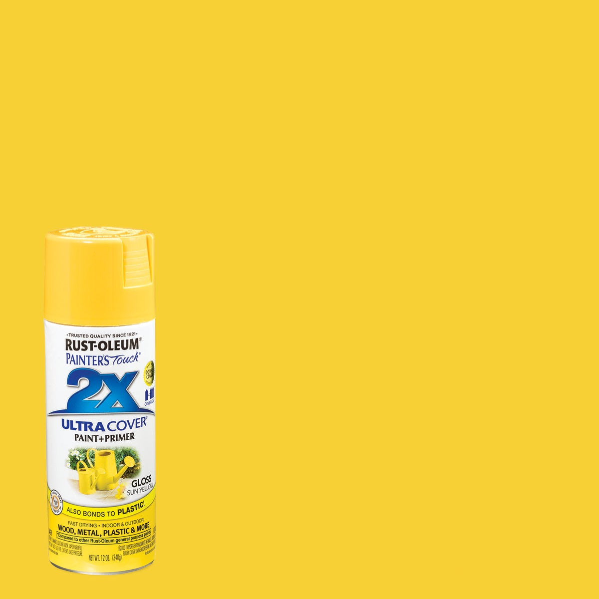 SUN YELLOW SPRAY PAINT - 249092 by Rustoleum