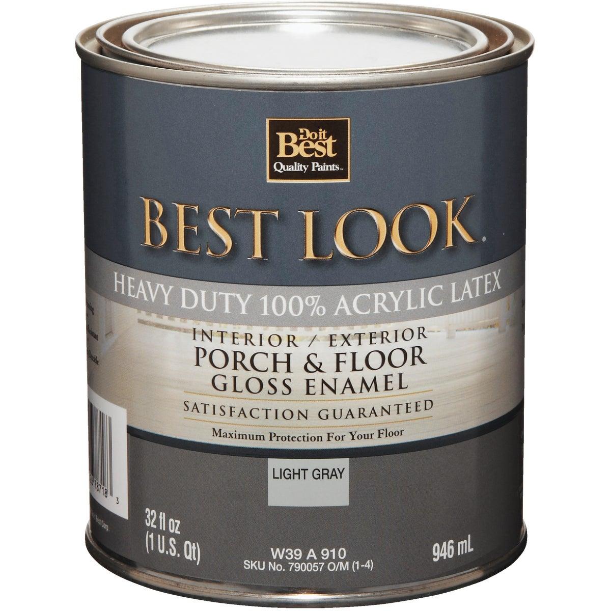 GLS GRAY FLOOR ENAMEL - W39W00910-14 by Do it Best