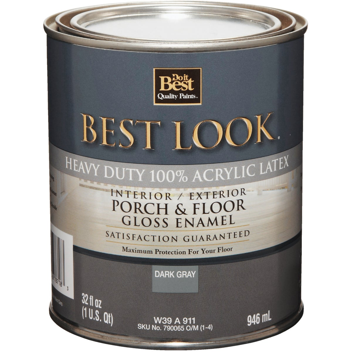 GLS DK GRAY FLOOR ENAMEL - W39W00911-14 by Do it Best