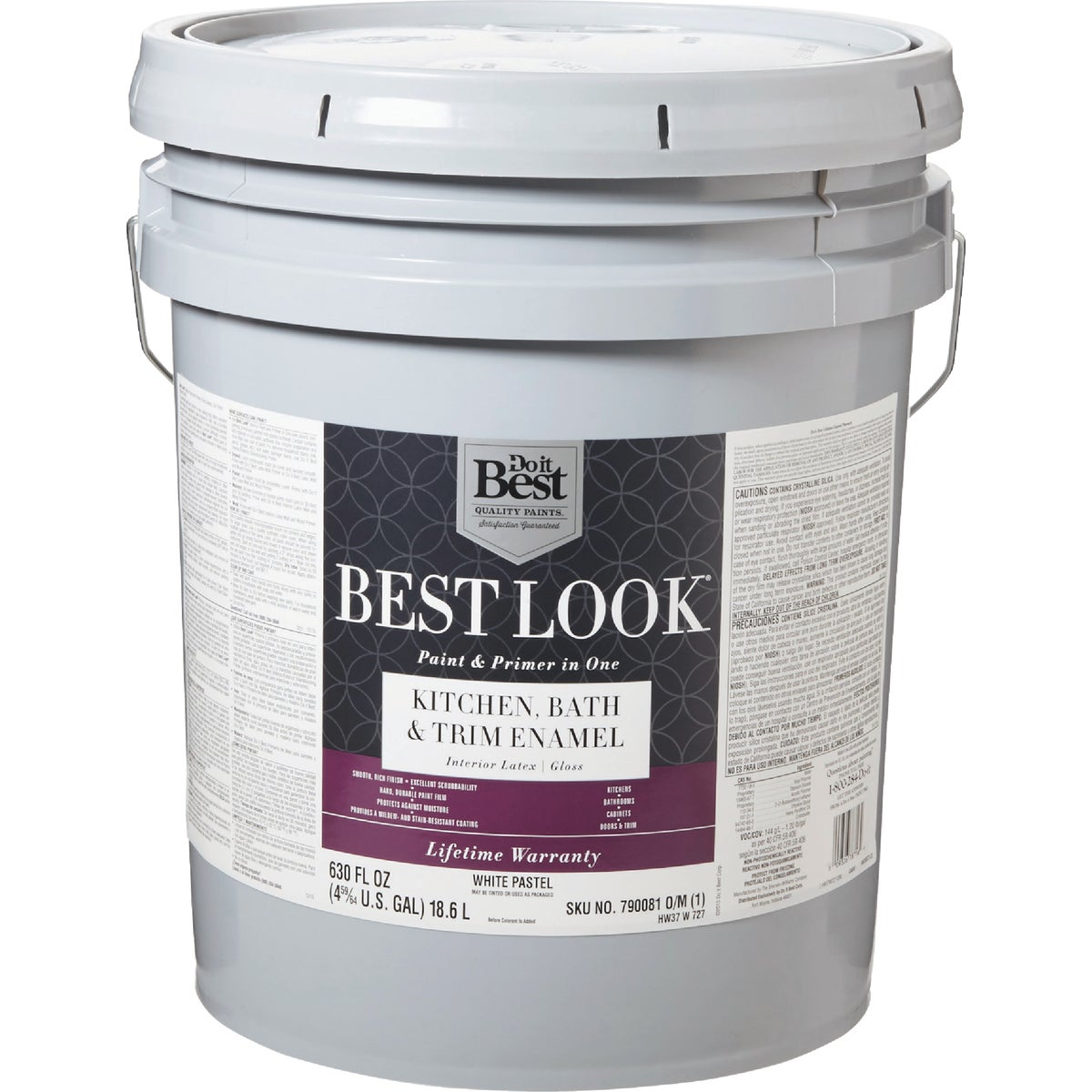 GLS WHT/PASTL BATH PAINT - HW37W0727-20 by Do it Best