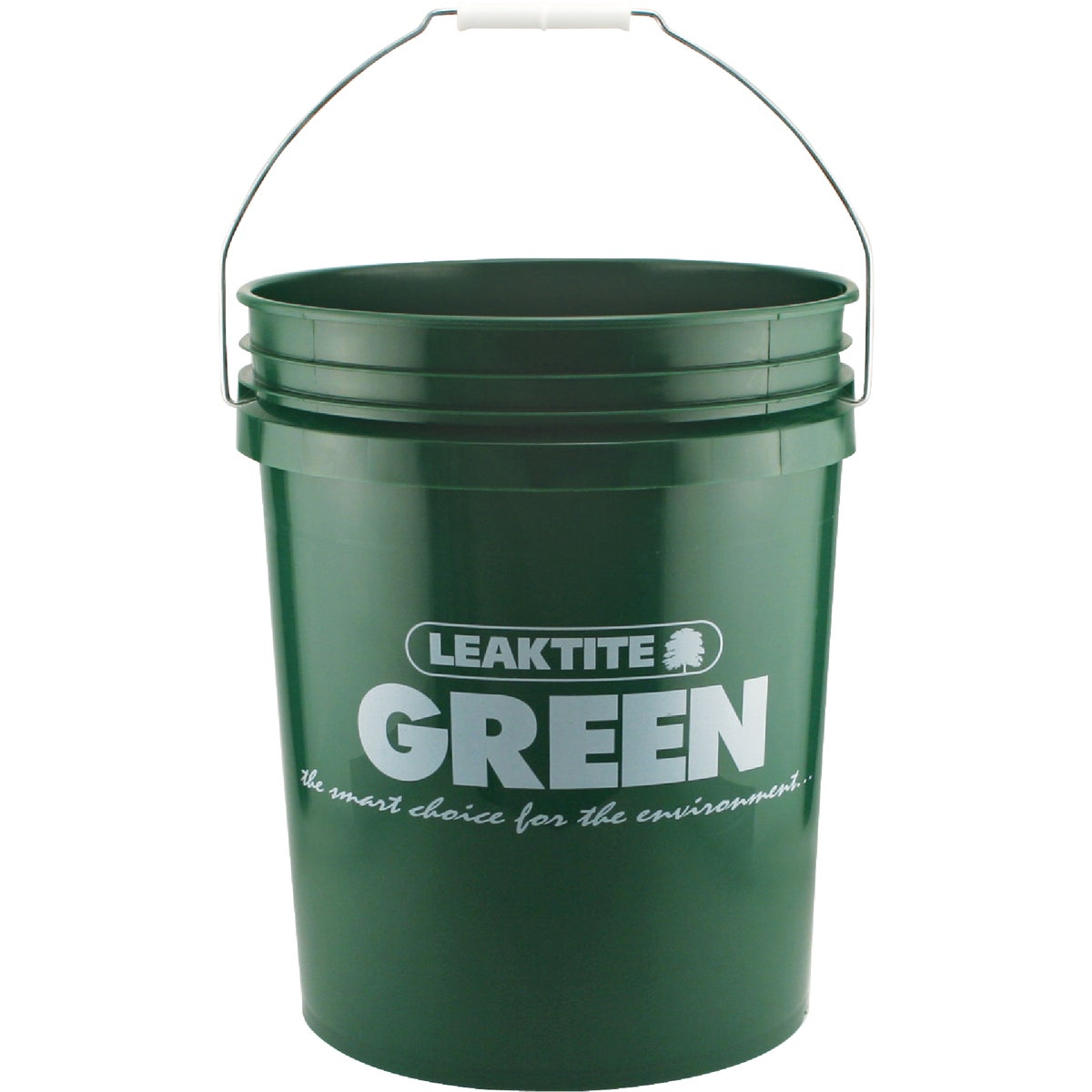 GREEN 5GAL PLASTIC PAIL - 5GLECG by Leaktite Corporation