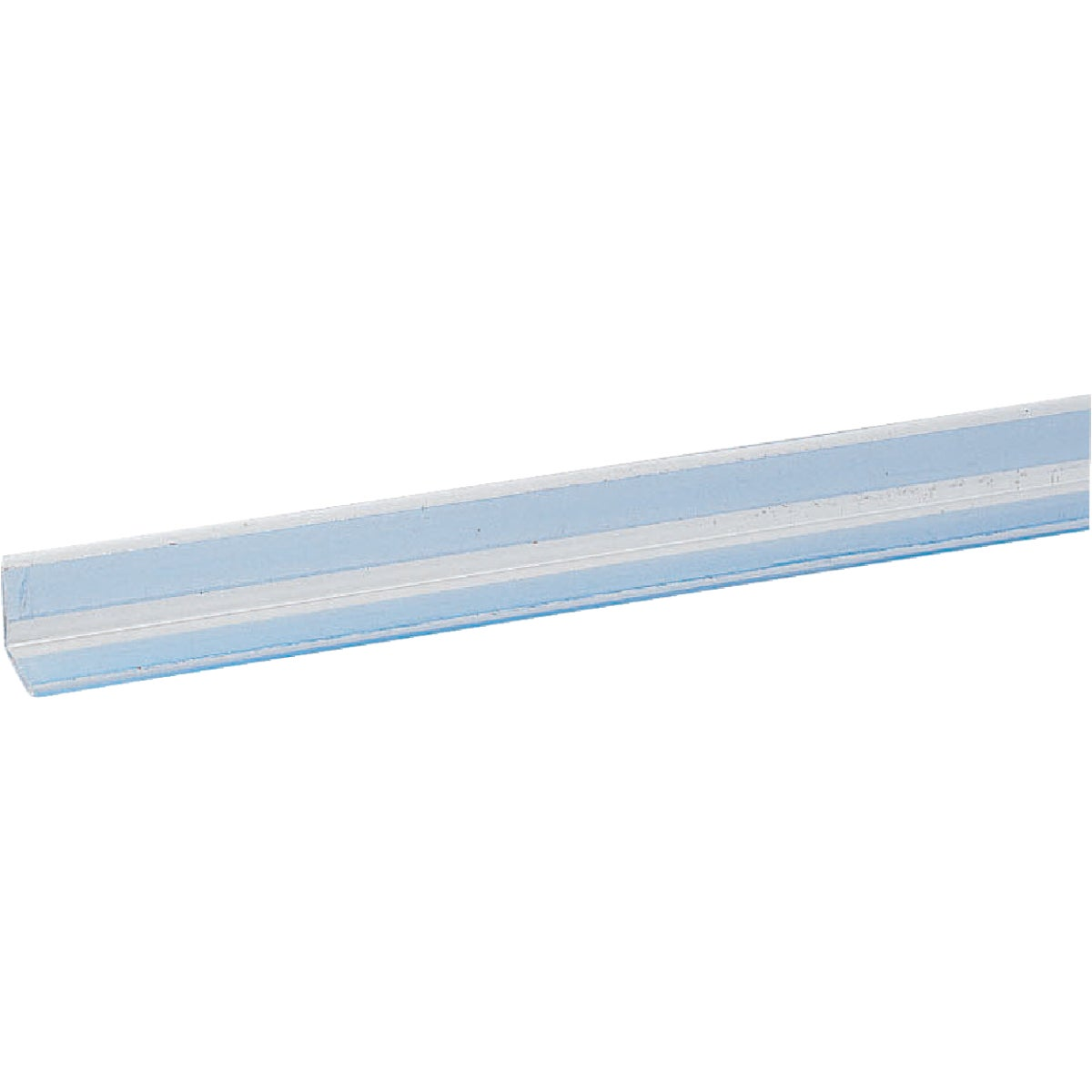 "1""X4'CLR ADH CORNERGUARD - SS4118 by Wall Protex"