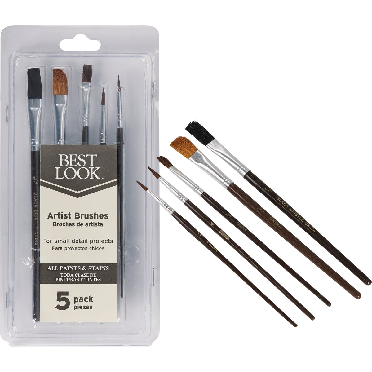5PC ARTIST BRUSH SET - 1769598 by Shur Line