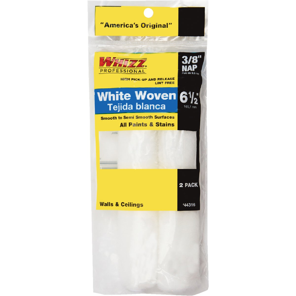 "2PK 6.5"" REPLCMNT COVERS - 44316 by Whizz Roller System"