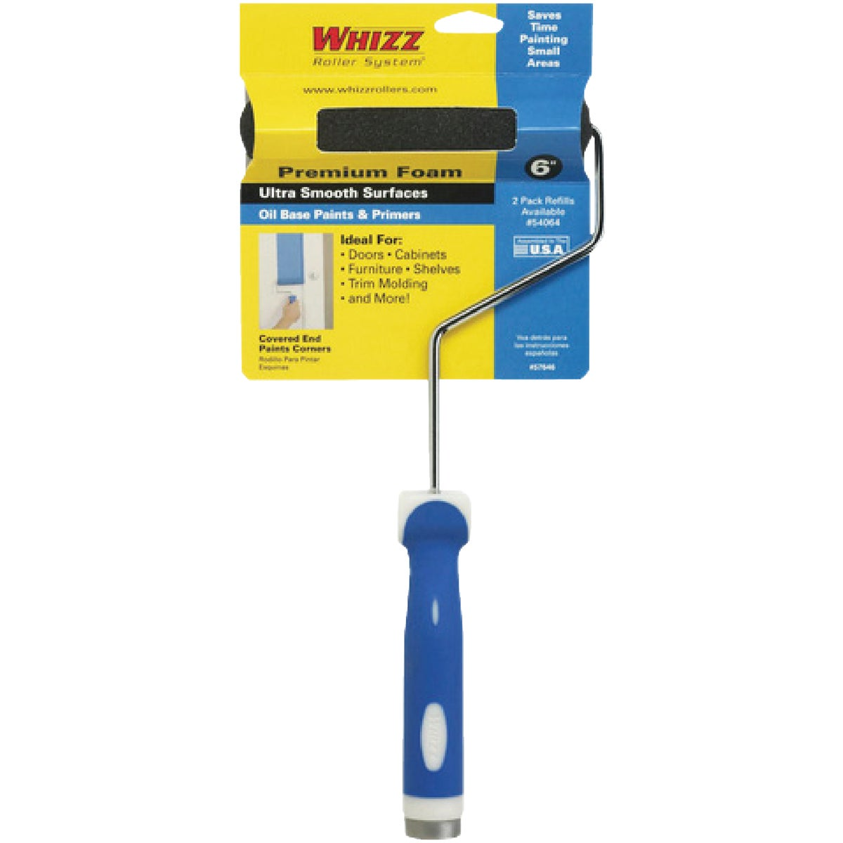 "6"" FOAM COVR & 13"" FRAME - 57646 by Whizz Roller System"