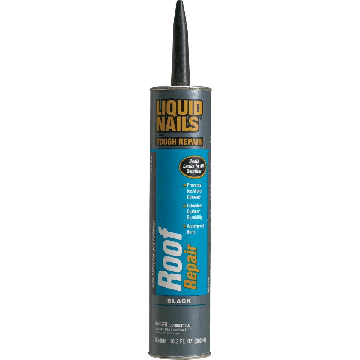 BLACK ROOF SEALANT - RR-808 by Liquid Nails/akzonob