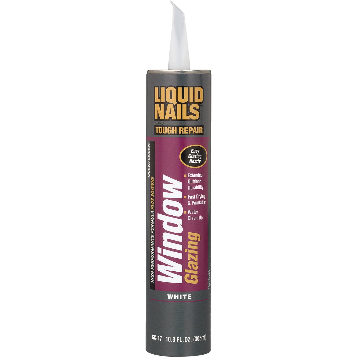 WHT LATEX WINDOW GLAZING - GC-17 by Liquid Nails/akzonob
