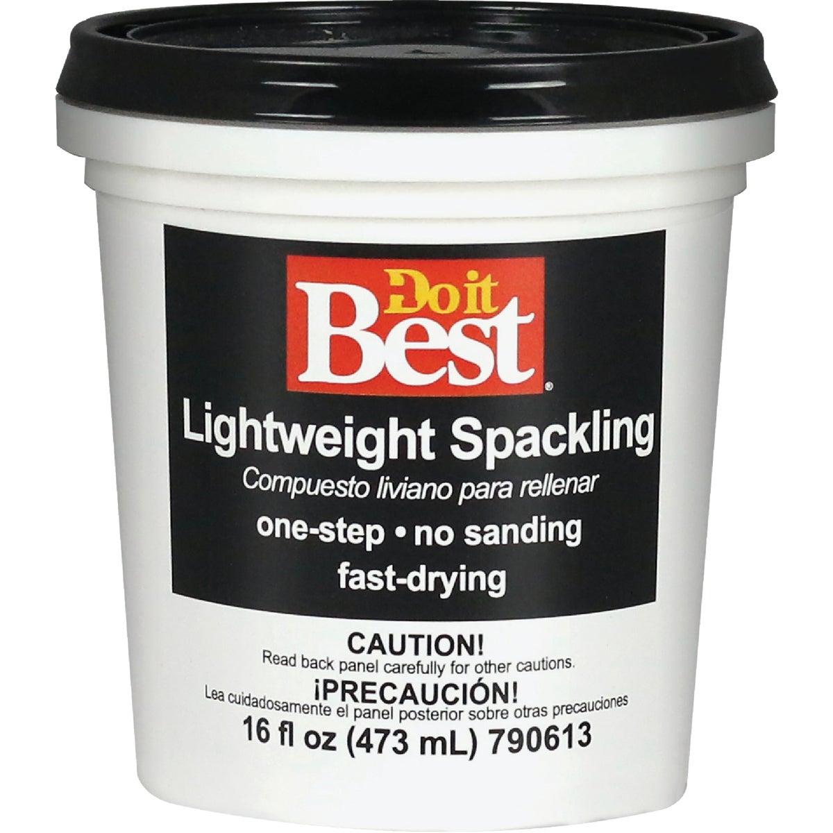 LIGHTWEIGHT SPACKLING