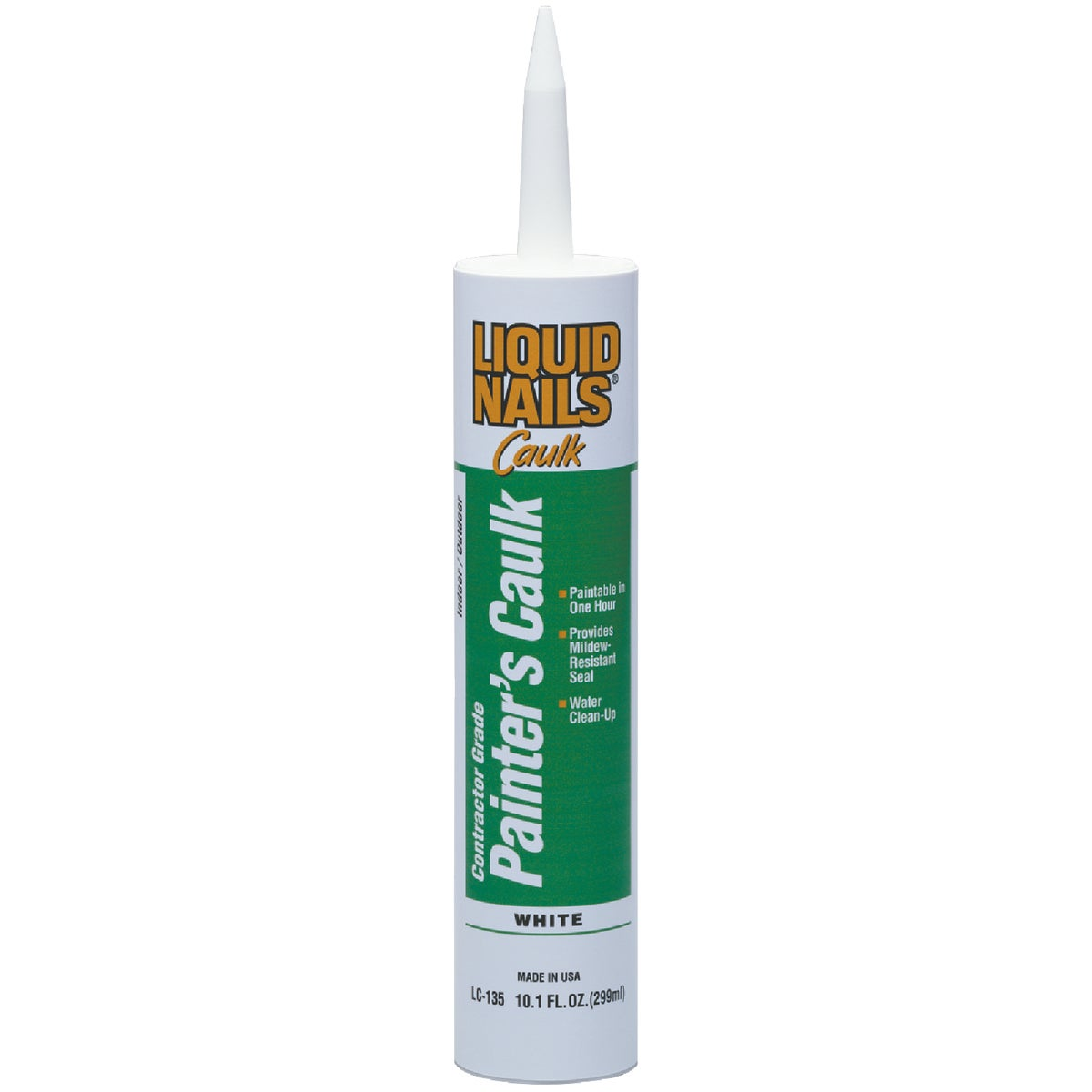 WHT LATEX PAINTERS CAULK - LC-135 by Liquid Nails/akzonob