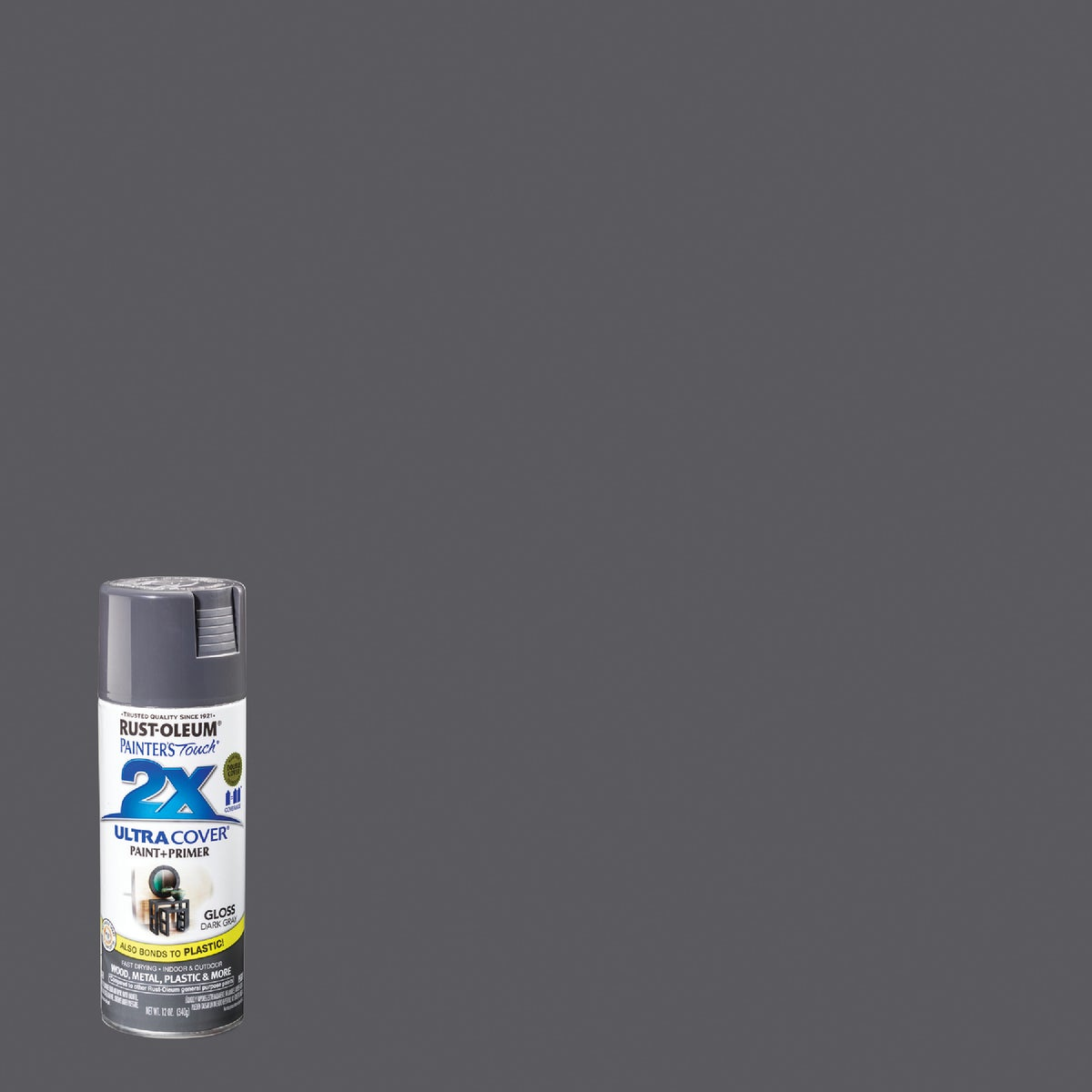 Rust Oleum DARK GRAY SPRAY PAINT 249115