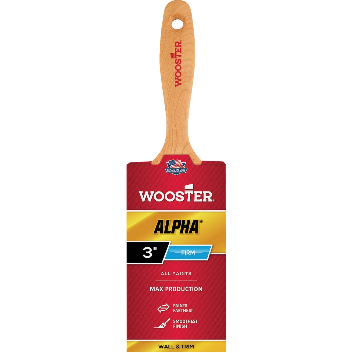 "3"" ALPHA BRUSH - 4233-3 by Wooster Brush Co"
