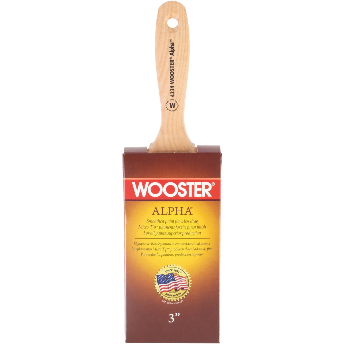 "3"" ALPHA BRUSH - 4234-3 by Wooster Brush Co"
