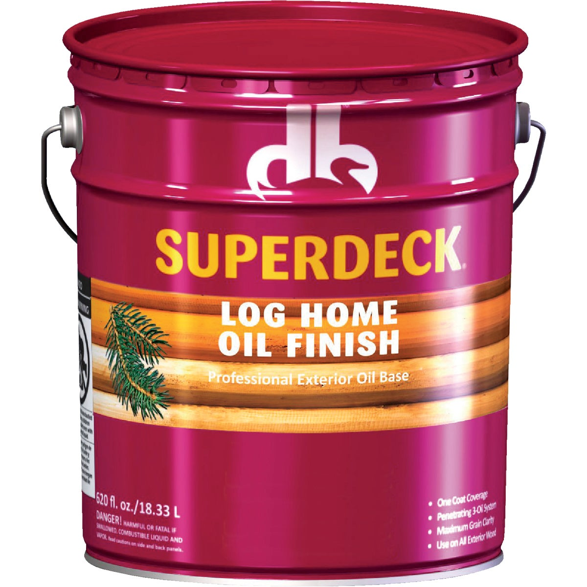 AMBER LOG HOME FINISH - DPI071005-20 by Duckback Prod
