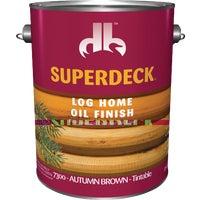 Duckback Prod. AUT BRN LOG HOME FINISH DP7300-4