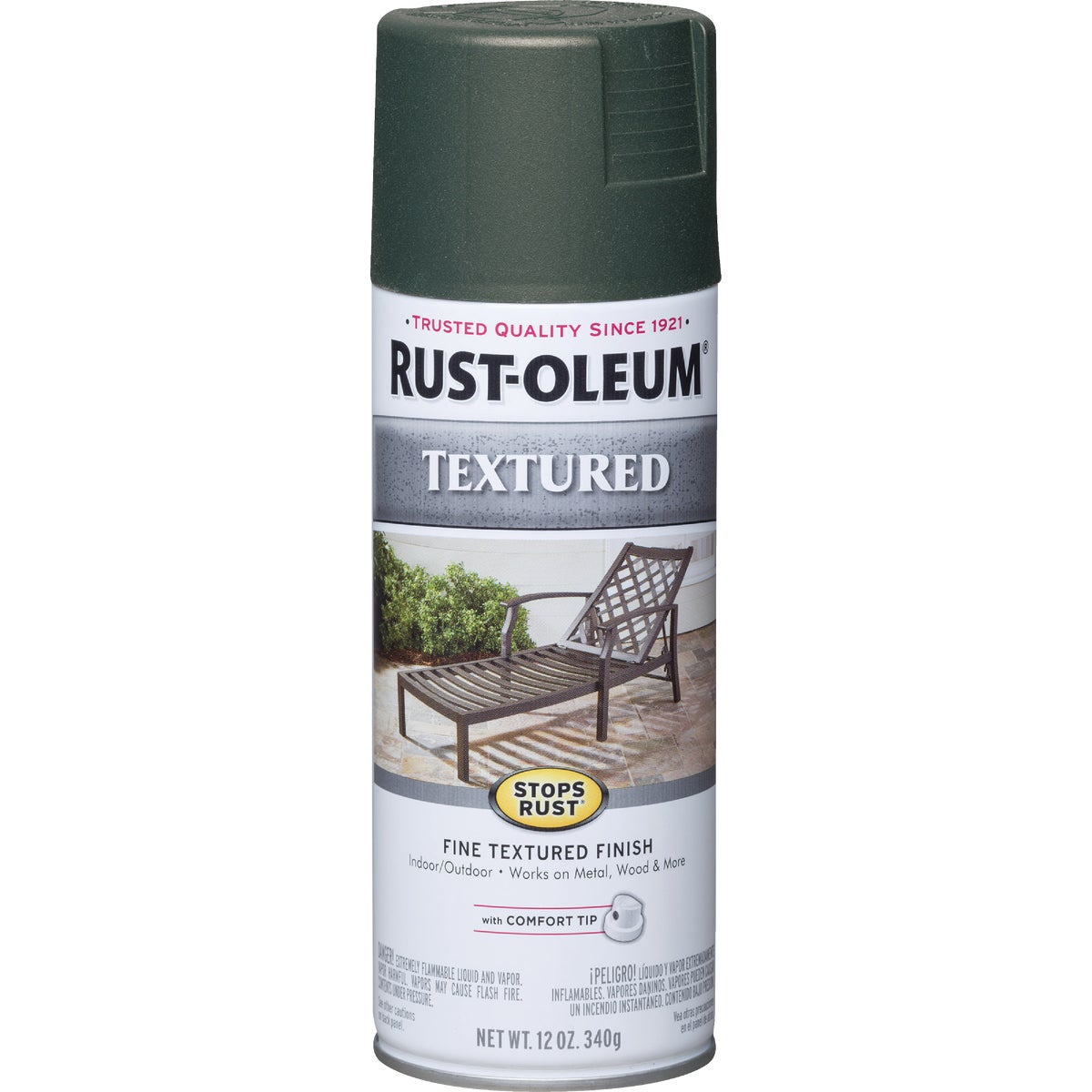 FOR GRN TEXT SPRAY PAINT - 7222-830 by Rustoleum